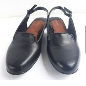 Ros Hommerson 8.5 SS Women's Black Slingback Shoes